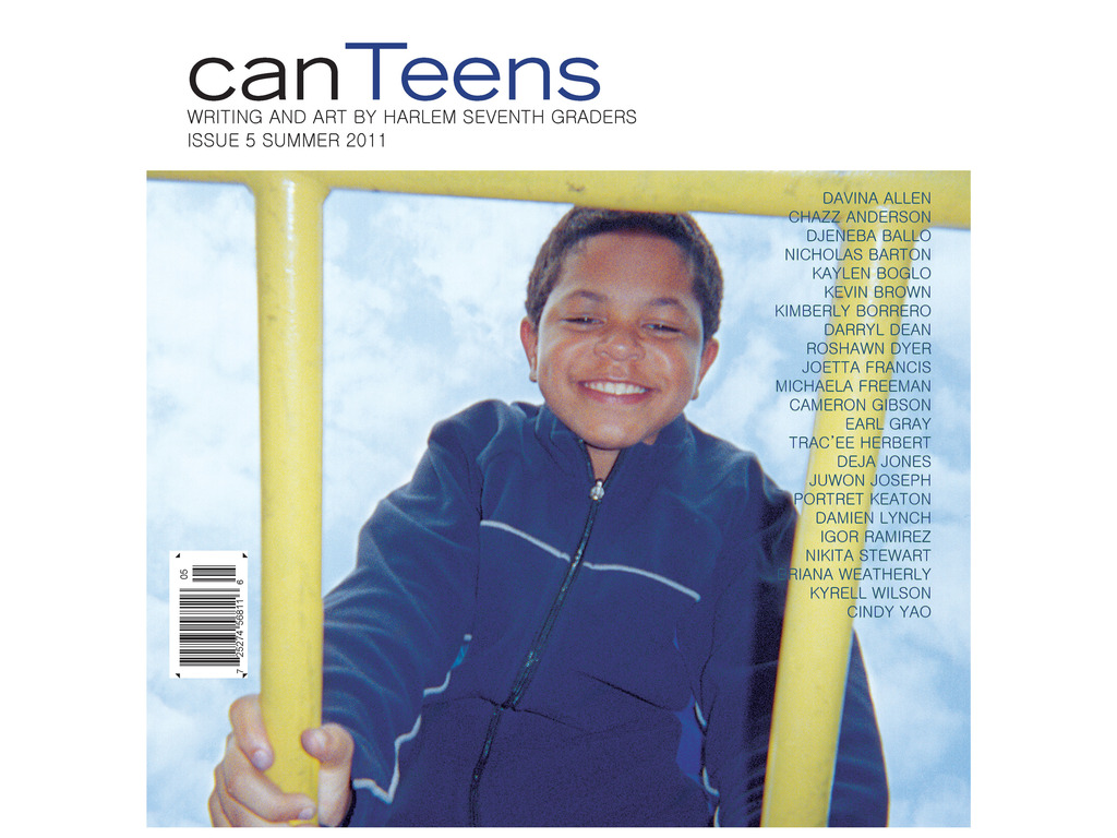 canTeens issue 6: Writing and art by Harlem 7th-graders's video poster
