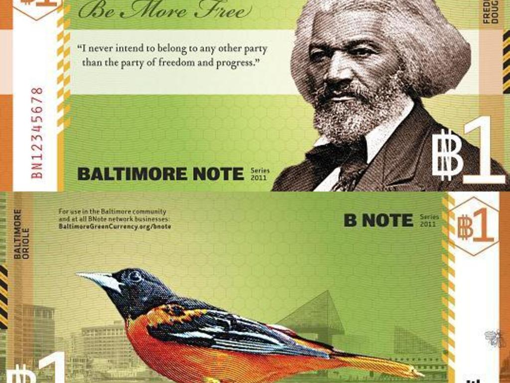 Print the BNote - Baltimore's Local Currency!'s video poster