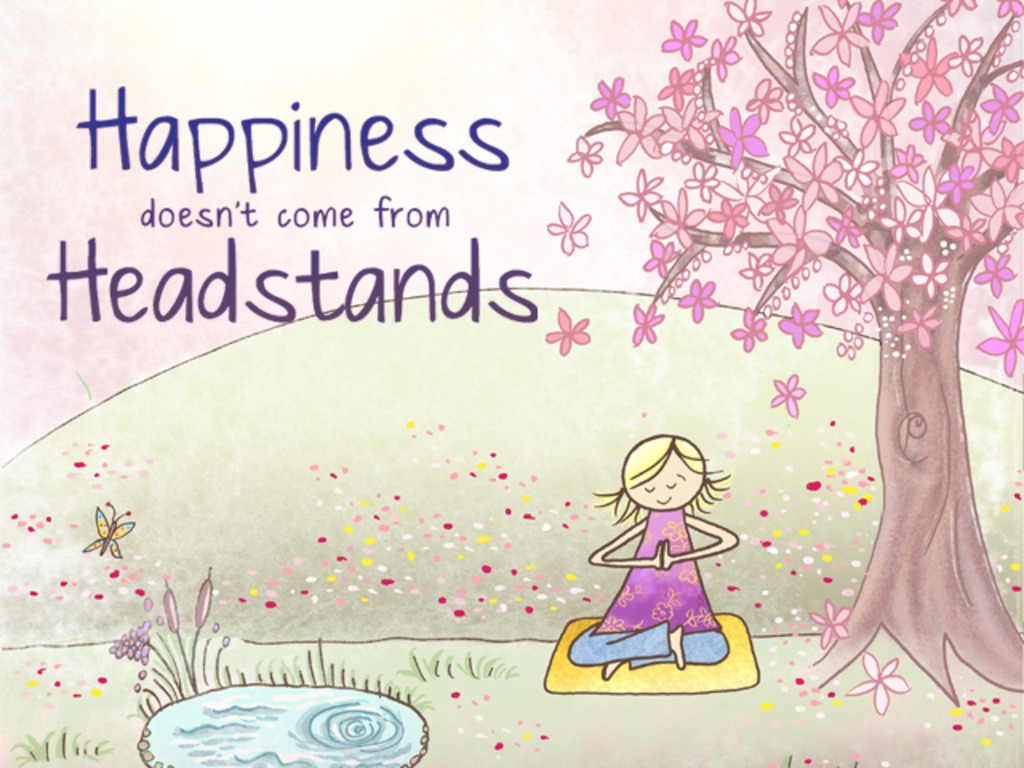 Happiness Doesn't Come from Headstands's video poster