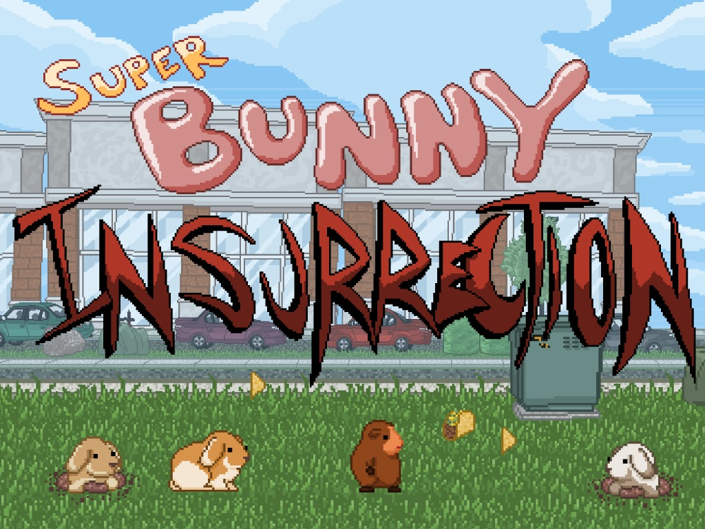Super Bunny Insurrection - 16-Bit Retro Comedy Platformer's video poster