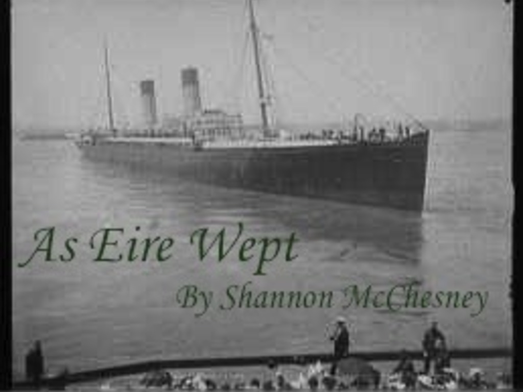 As Eire Wept's video poster