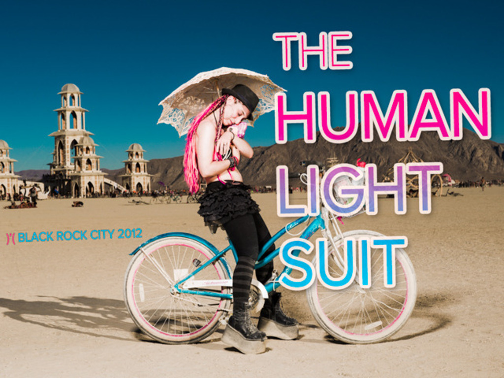 The Human Light Suit 3.0: Burning Man and Beyond's video poster