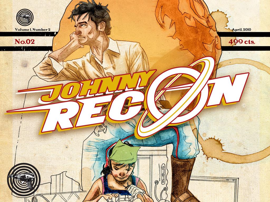 JOHNNY RECON No. 02: A Daring HI-FI Adventure Tale - A Comic Book Project's video poster