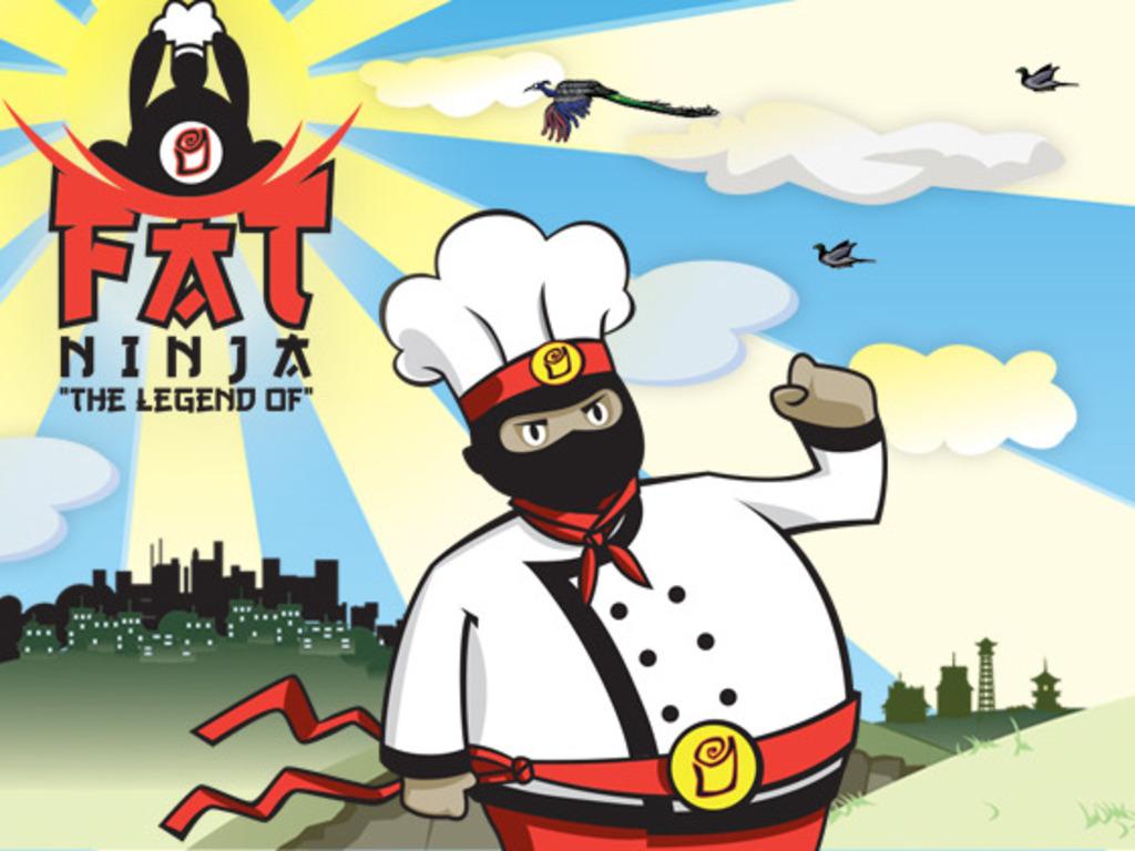 Legend of Fat Ninja's video poster