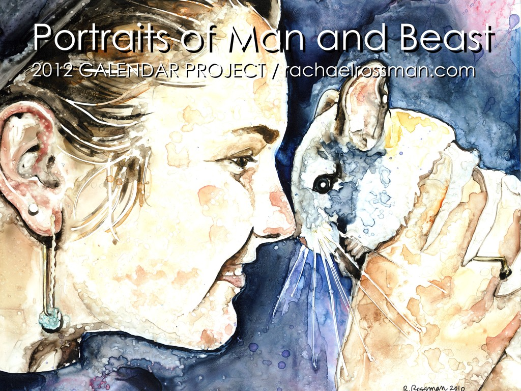 2012 Calendar Project : Portraits of Man and Beast's video poster