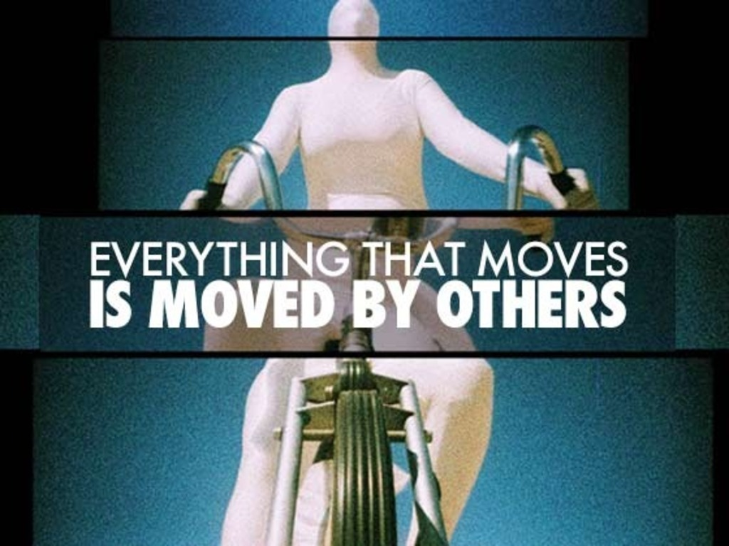 Everything That Moves Is Moved By Others's video poster