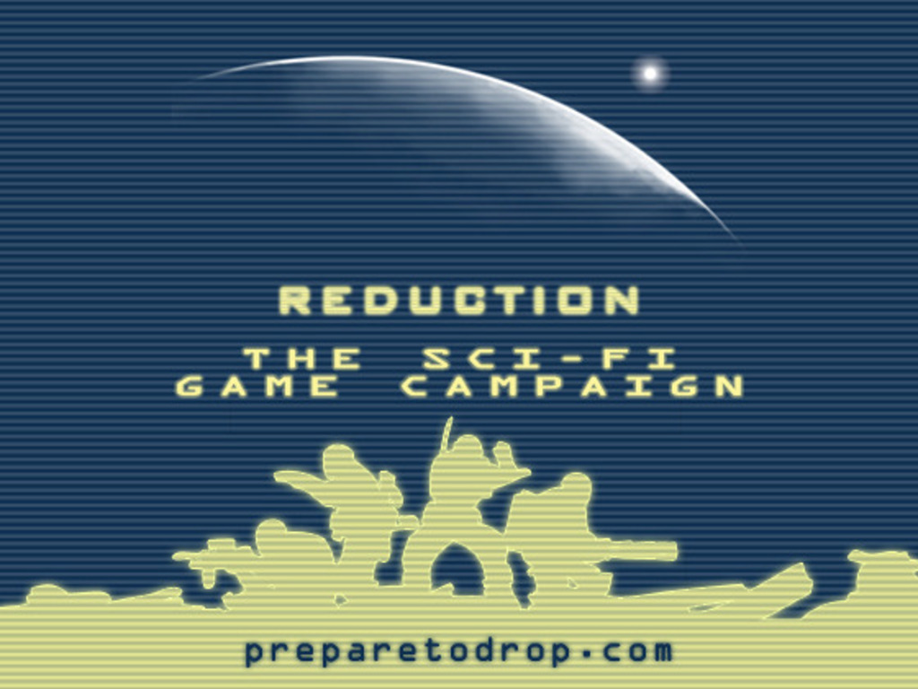 Reduction: The Bug-War-On-Earth Sci-Fi Game Campaign's video poster