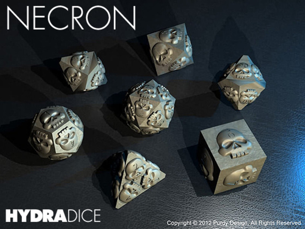 HYDRA DICE - NECRON's video poster