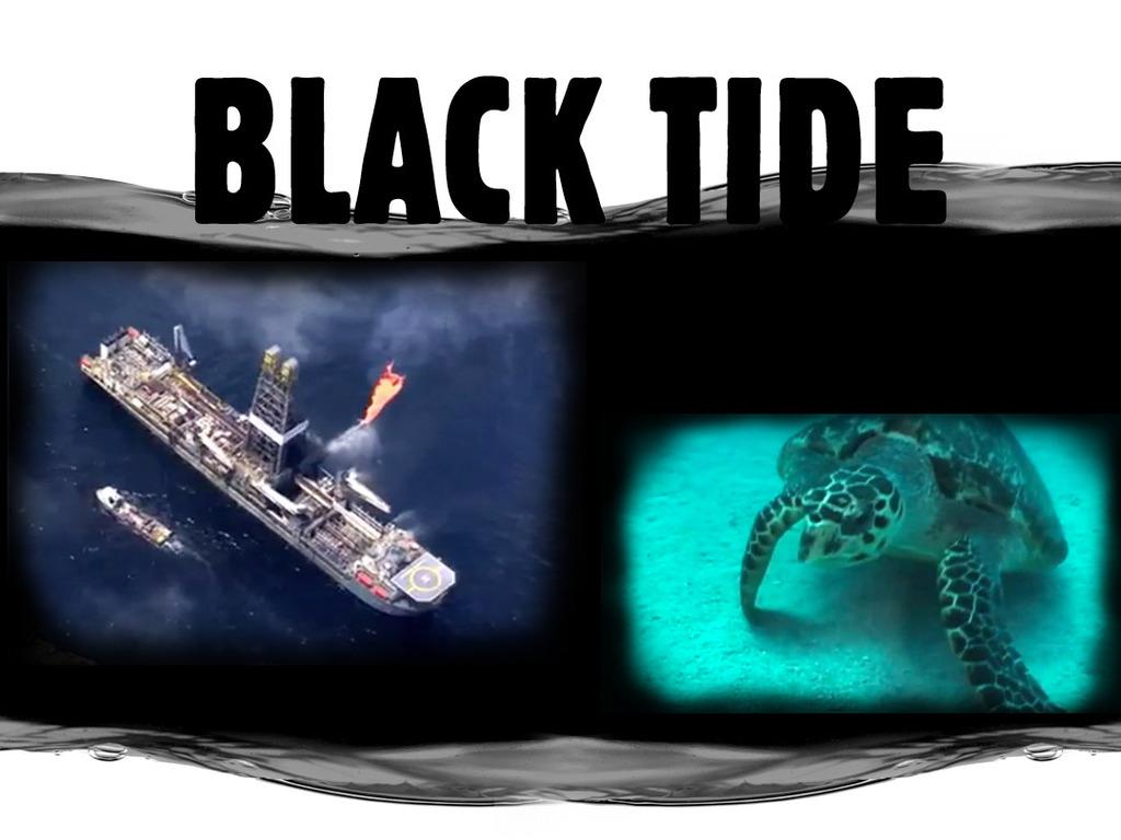 Black Tide's video poster