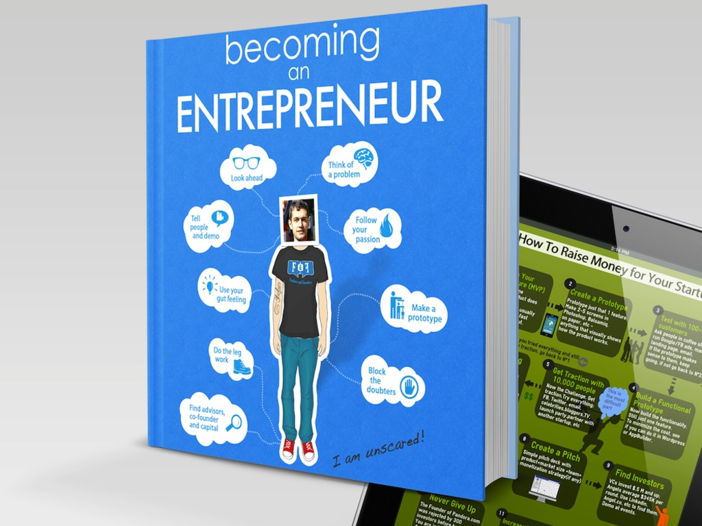 """Becoming an Entrepreneur"" Infographic Book's video poster"