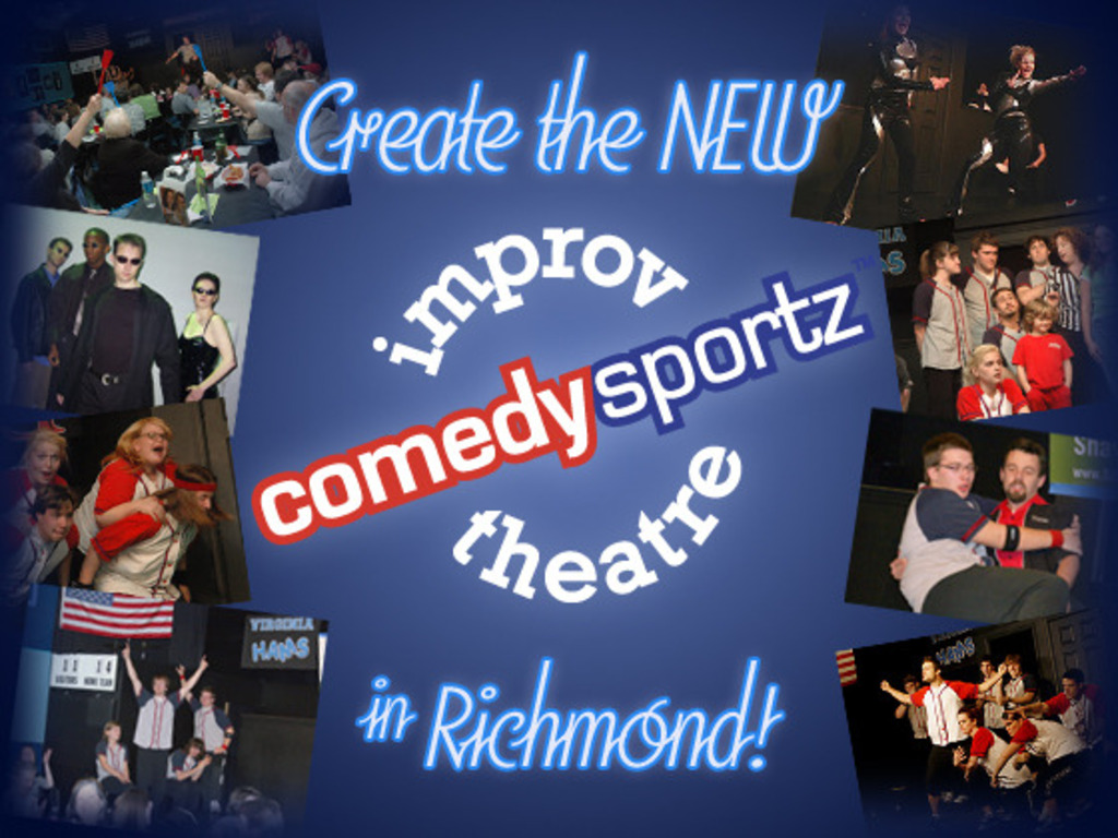 Create the NEW ComedySportz Improv Theatre in Richmond!'s video poster