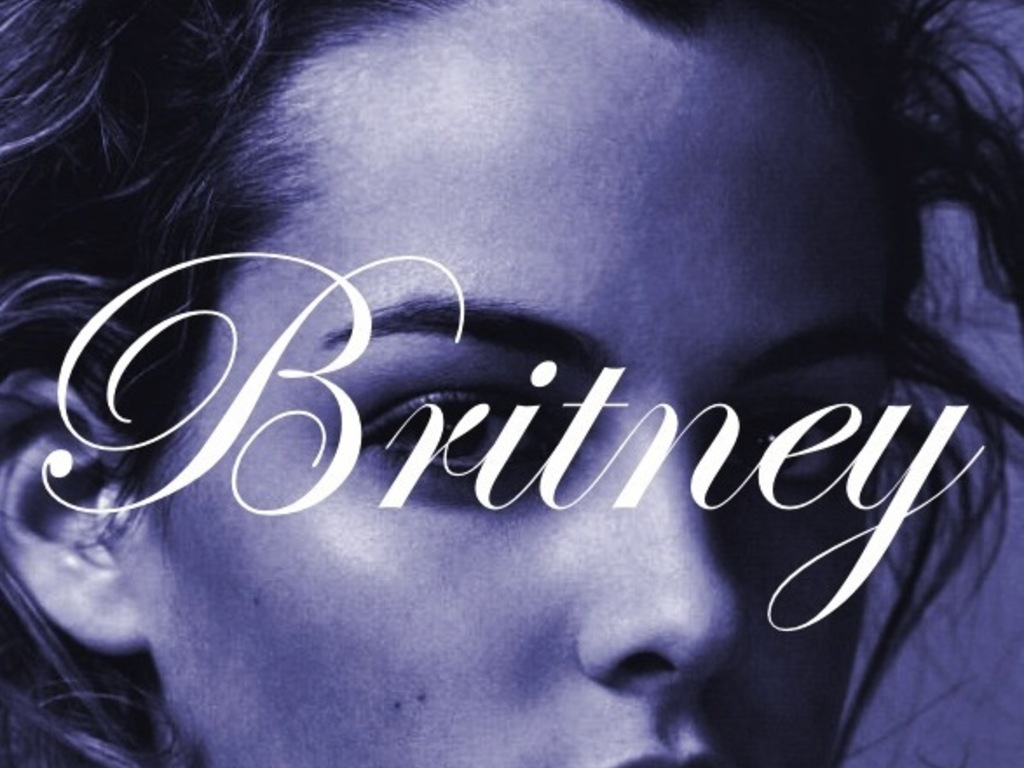 Britney's video poster