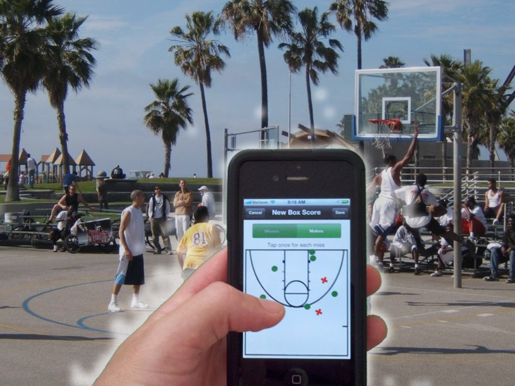 Pickup Basketball Stats iPhone App's video poster