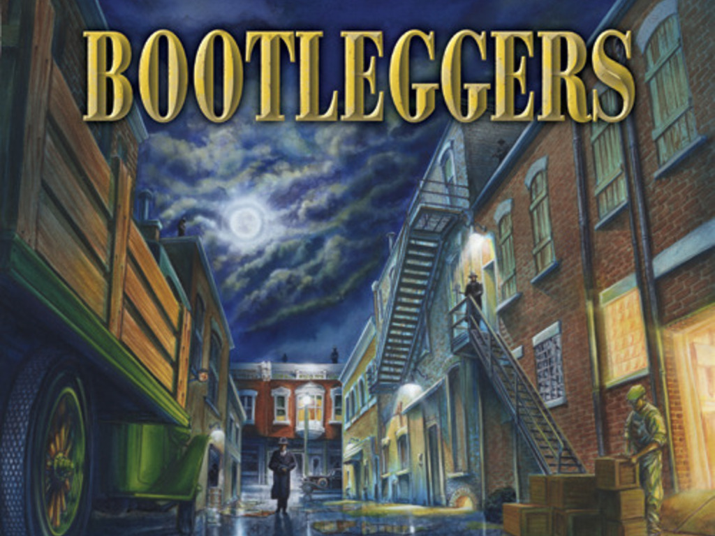 Bootleggers -Prohibition Era Board Game (sorry no Zombies!)'s video poster