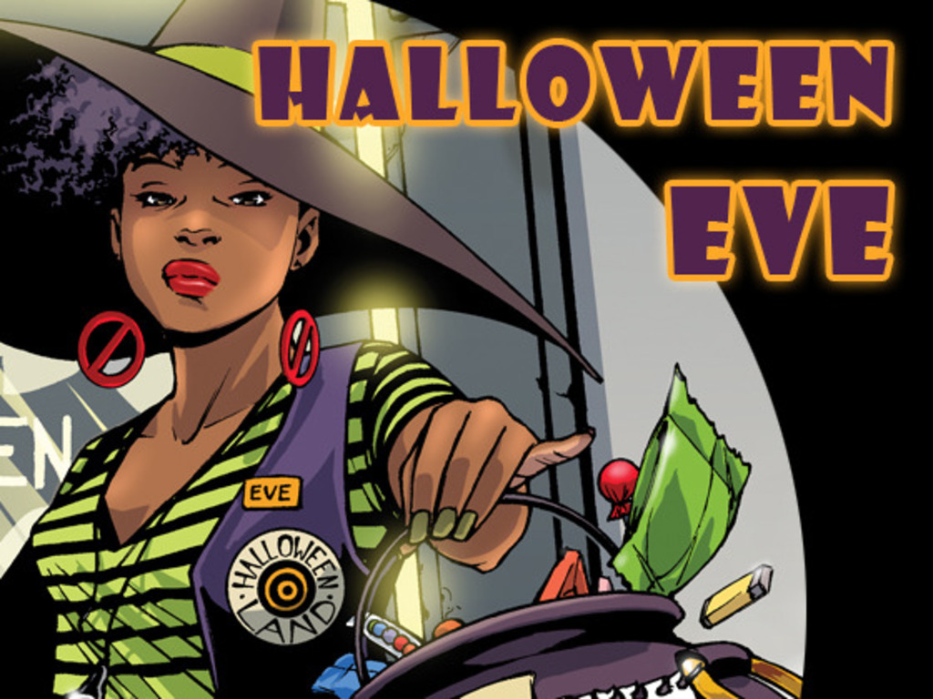 HALLOWEEN EVE comic book's video poster