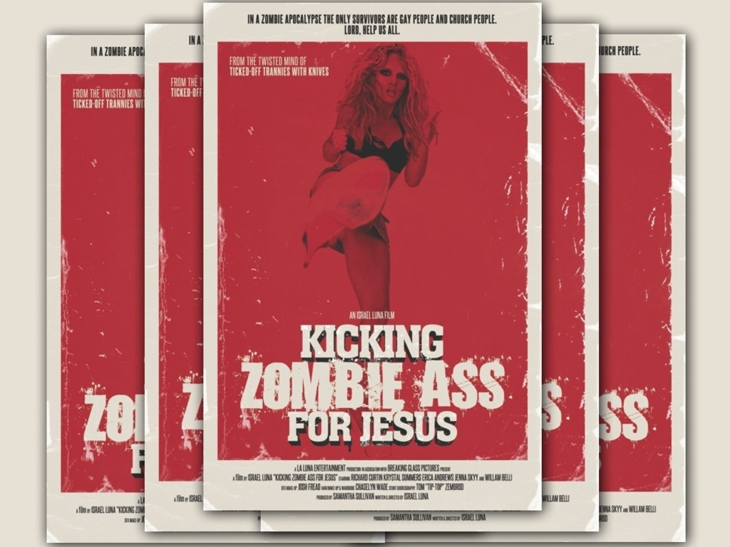 Kicking Zombie Ass For Jesus's video poster
