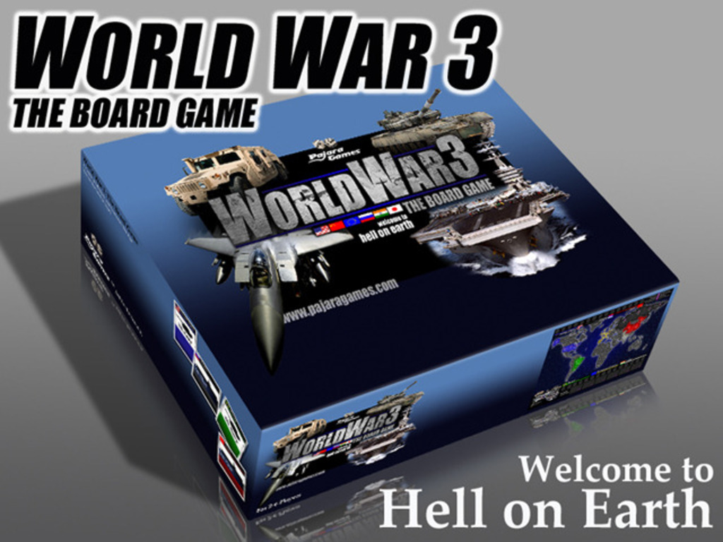 World War 3: The Board Game (Canceled)'s video poster