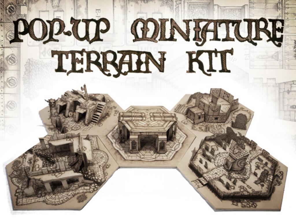 Pop-Up Miniature Terrain Kit's video poster