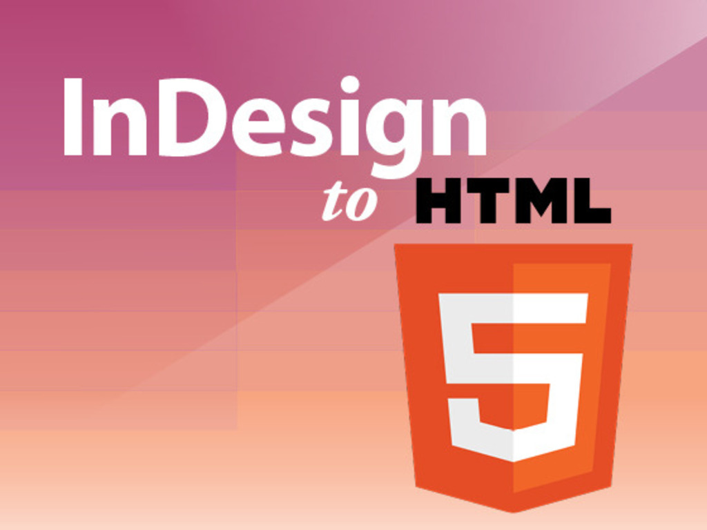 InDesign to HTML5's video poster