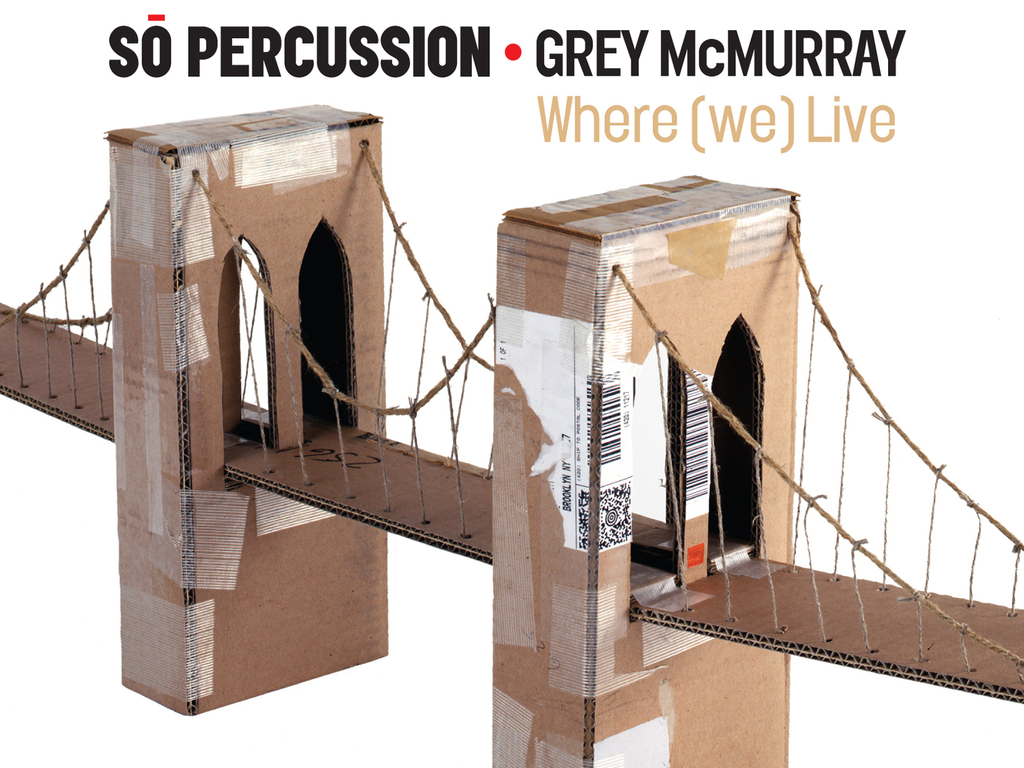 So Percussion's Where (we) Live - recording and performances's video poster