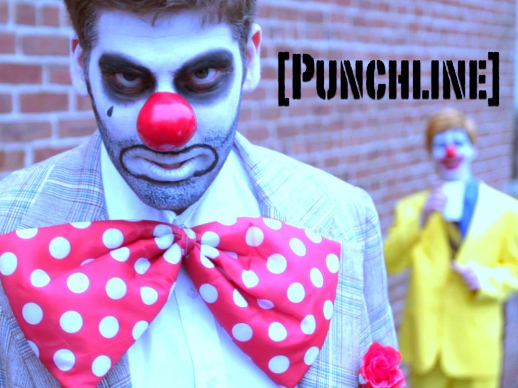 [Punchline] A Clown Film Noir's video poster