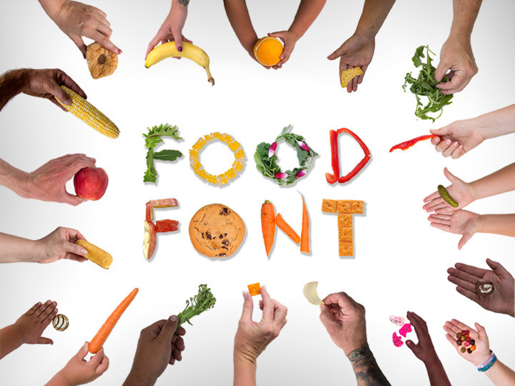 Food Font's video poster