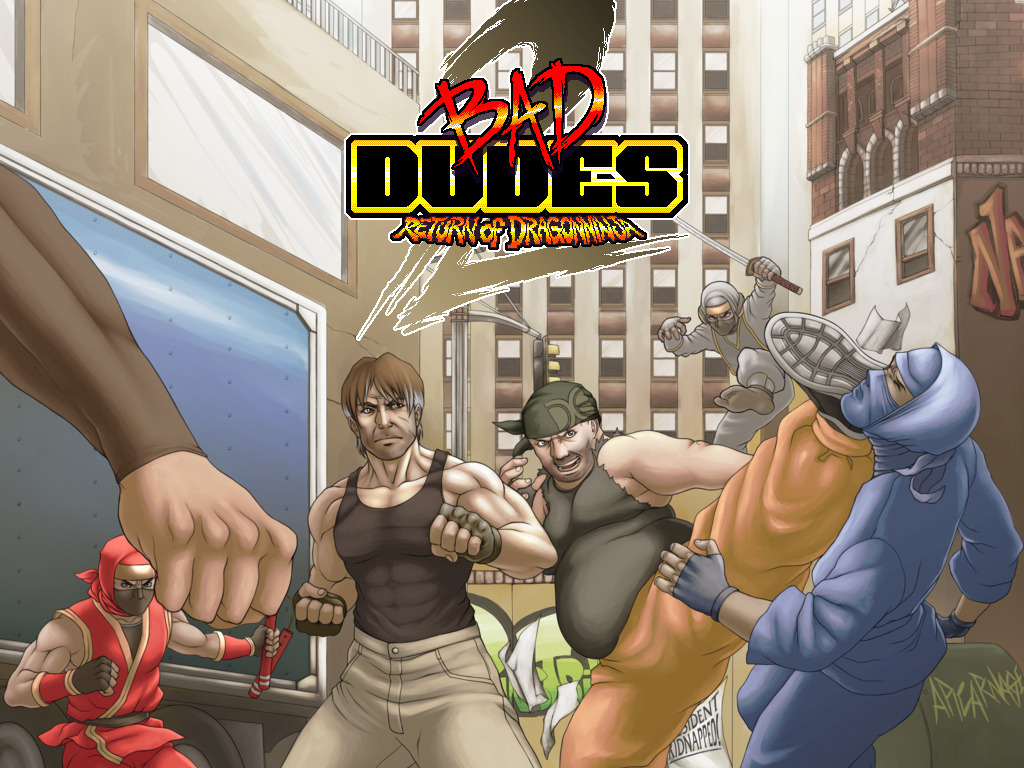 Bad Dudes 2's video poster