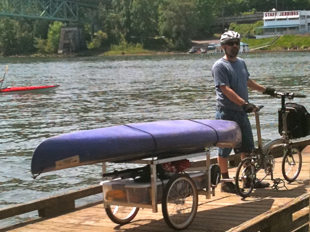 Portland Bicycle Trailer Company M.O.M. Trailer™ Phase 2's video poster