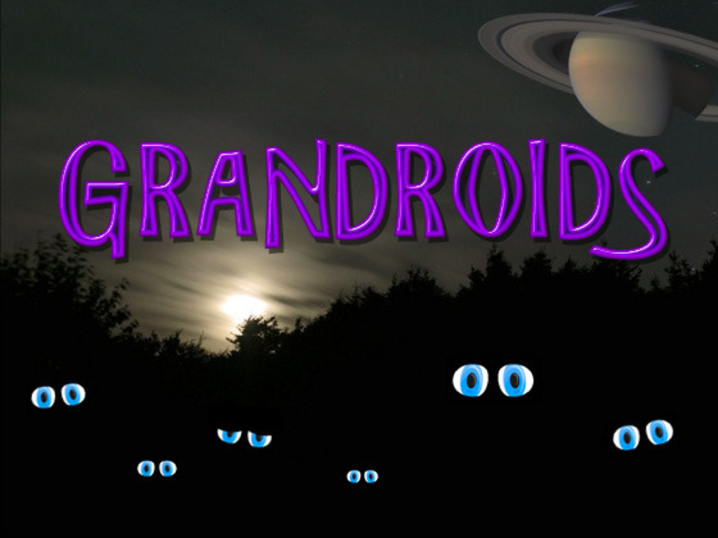 Grandroids: Real artificial life on your PC's video poster