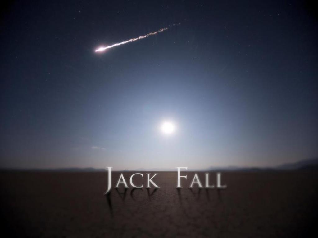 Jack Fall's video poster