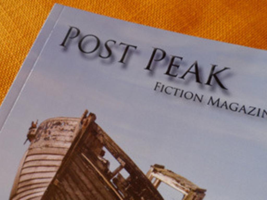 Post Peak Fiction Magazine's video poster