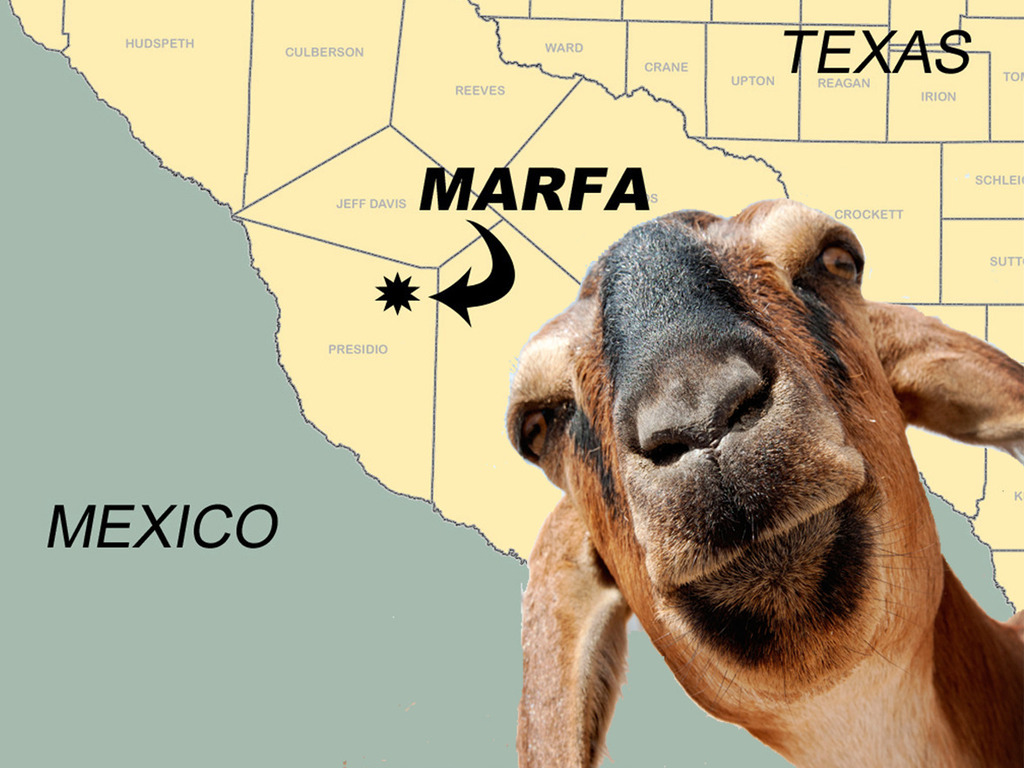 Goat Cheese for Marfa, Texas's video poster