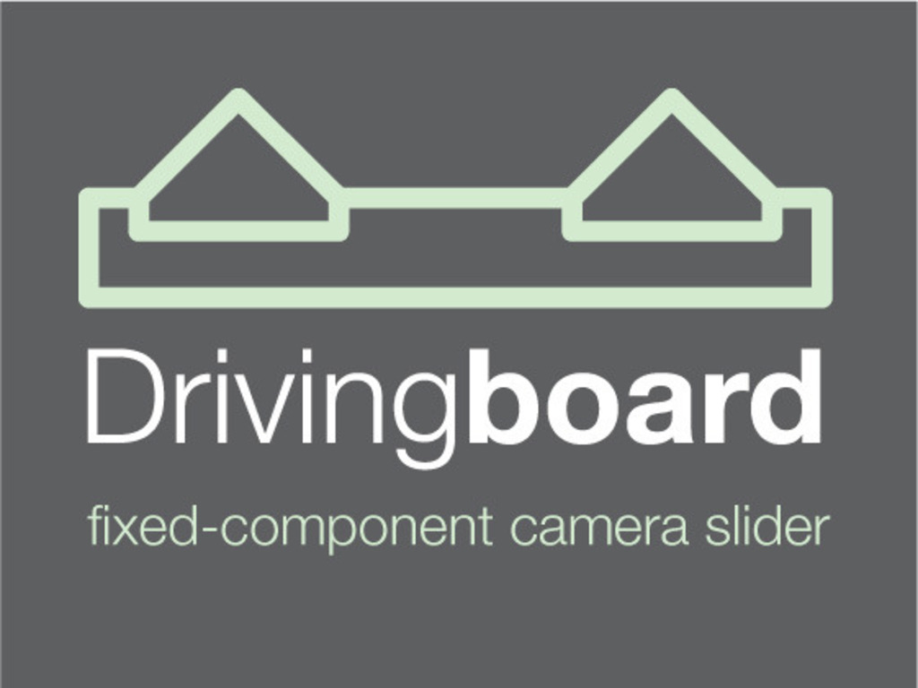 Drivingboard - fixed-component, sub $200 camera slider!'s video poster