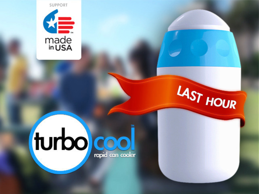 TurboCool Your Canned Beverage in Seconds!'s video poster
