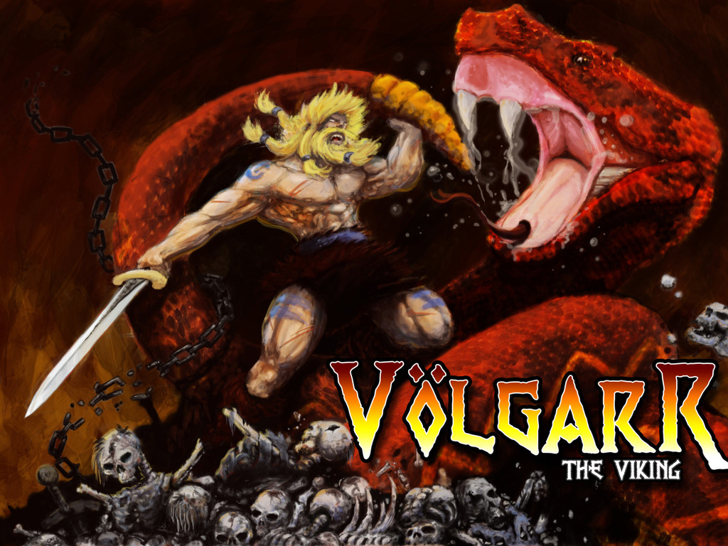 Volgarr the Viking's video poster