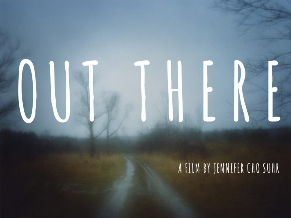 Out There's video poster