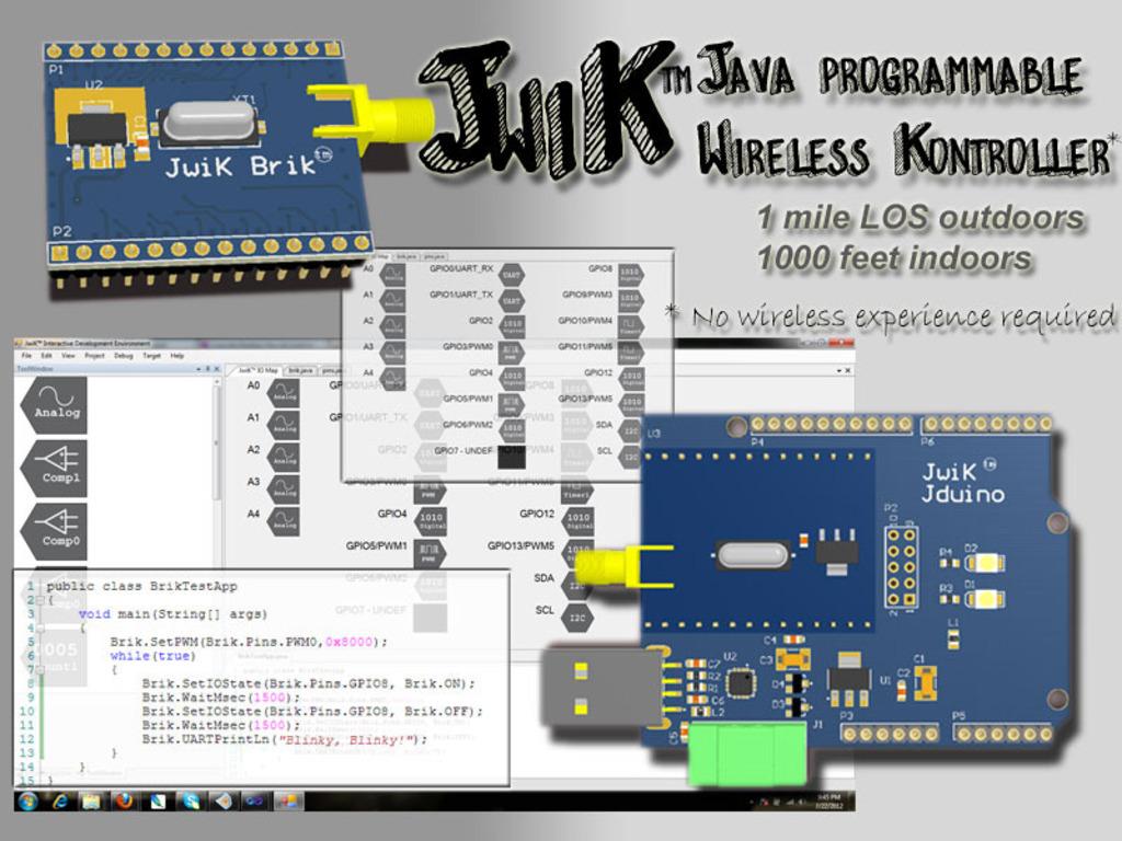 JwiK Brik™ - Java Wireless Kontroller's video poster