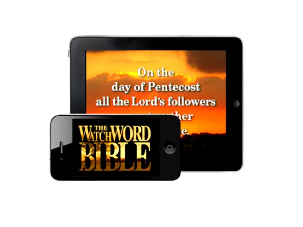 WatchWord Video Bible: App for Smartphones and Tablets's video poster