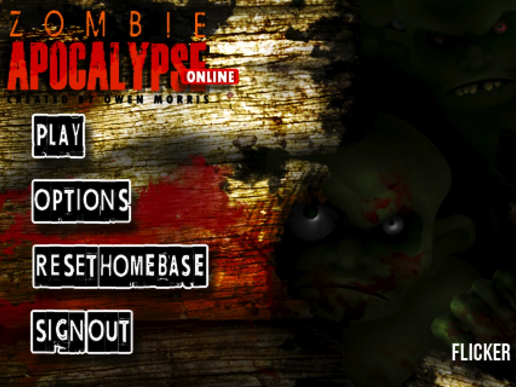Zombie Apocalypse Mobile- an iPhone MMORPG's video poster