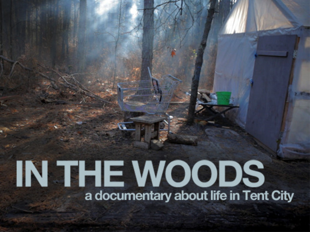In the Woods - a documentary about life in Tent City 's video poster