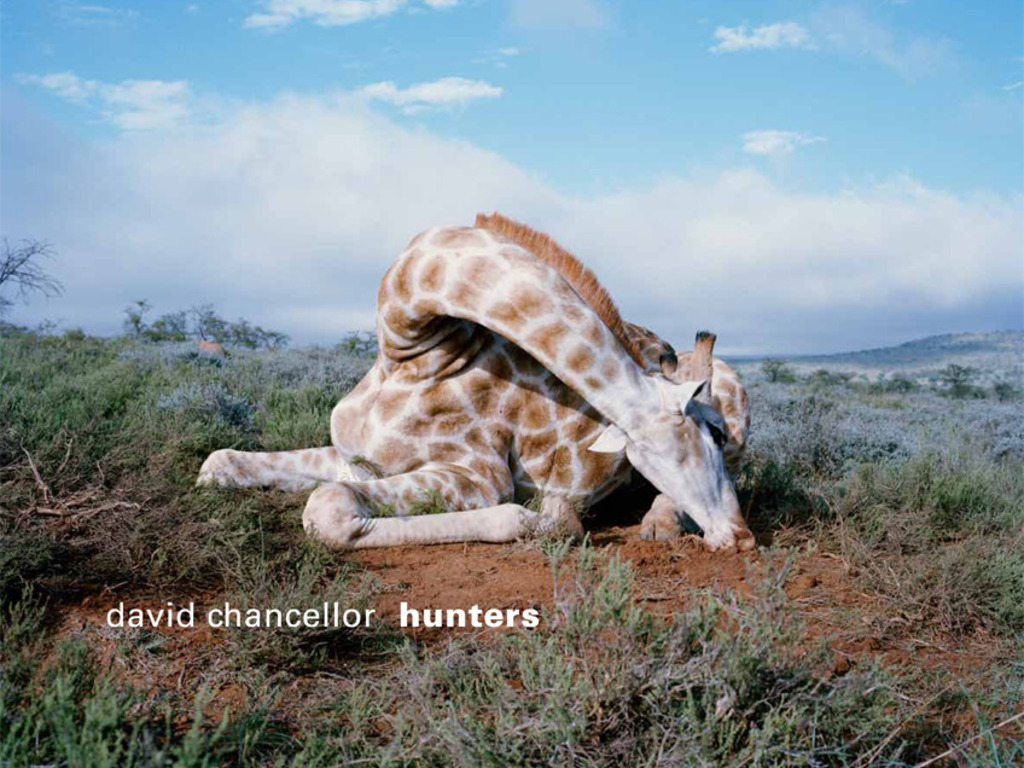 'Hunters' a photography art book by David Chancellor.'s video poster
