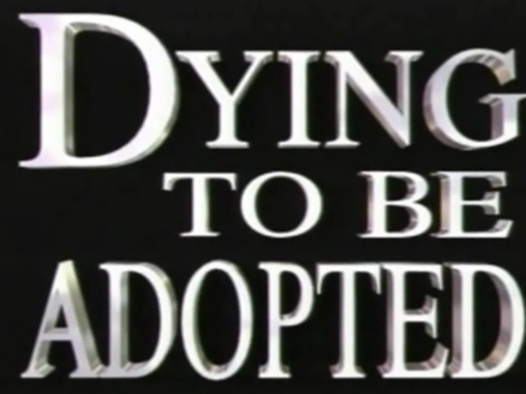 Euthanasia Documentary: Dying to Be Adopted's video poster