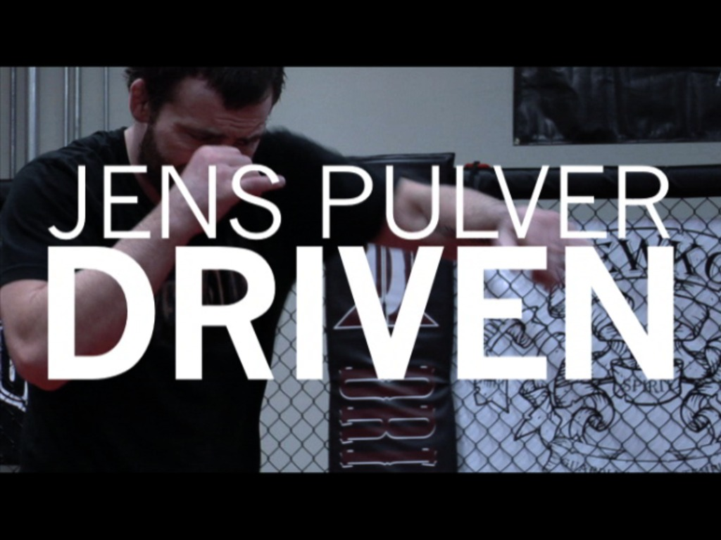 JENS PULVER | DRIVEN a feature documentary about a legendary fighter's last march's video poster