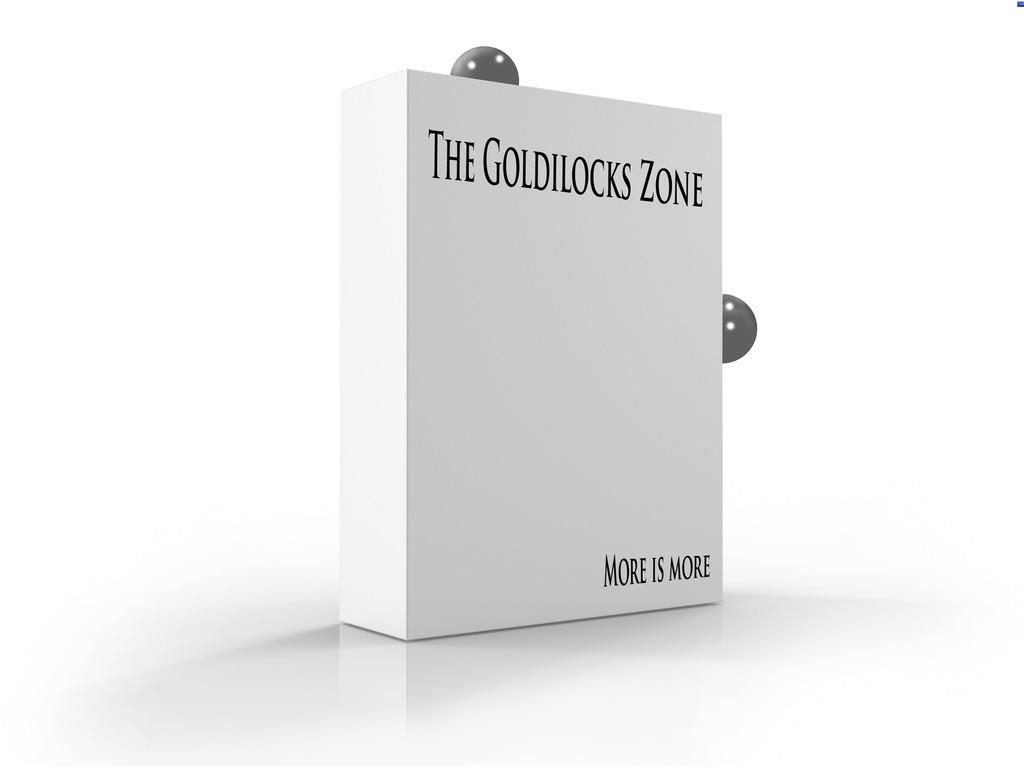 """Schmantze Theatre's """"The Goldilocks Zone: more is more""""'s video poster"""