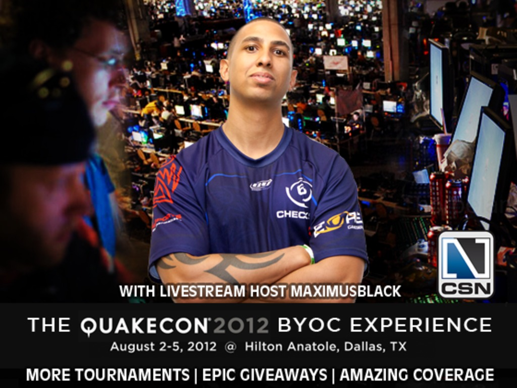 QuakeCon 2012 BYOC Live Stream Experience's video poster