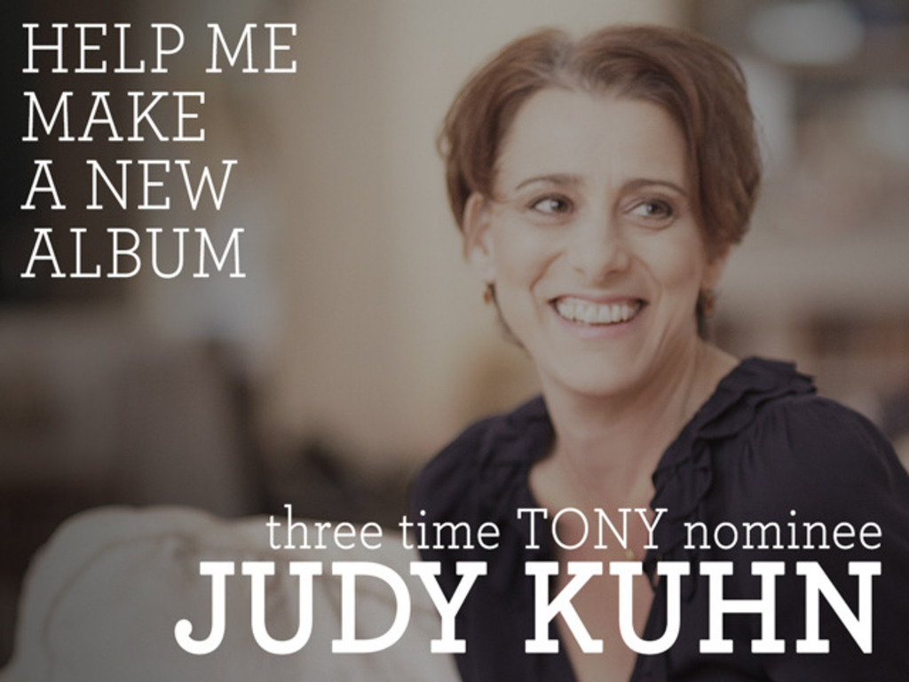 JUDY KUHN: A New Solo Album's video poster