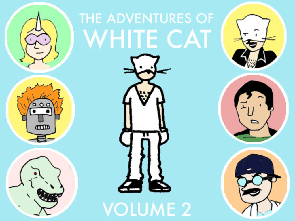 The Adventures of White Cat Volume 2's video poster