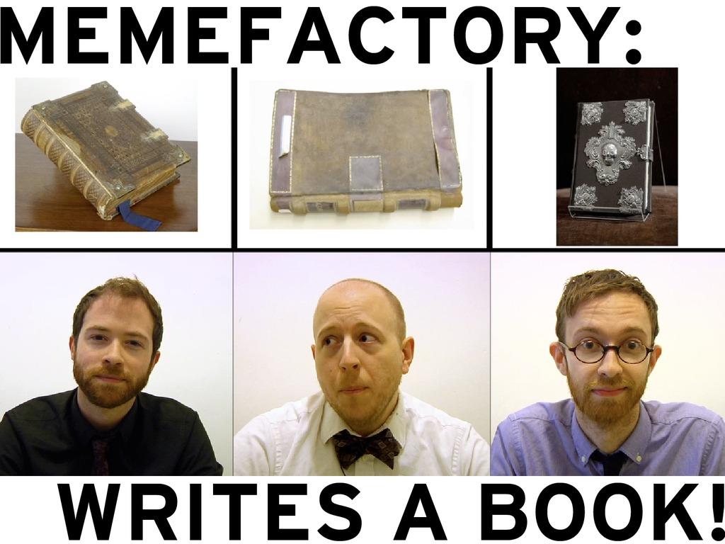 MemeFactory Writes A Book's video poster