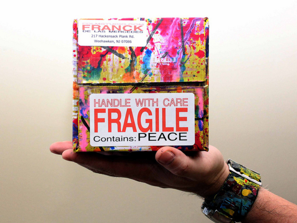 The Priority Boxes: Spreading Peace One Box at a Time's video poster