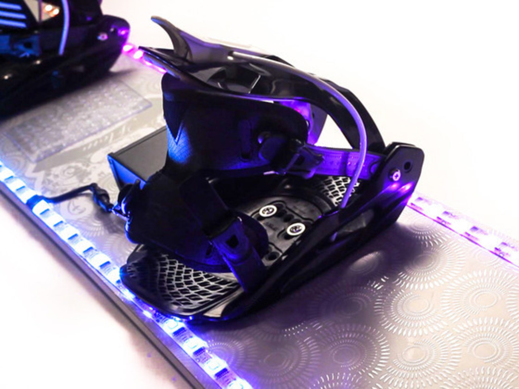 LED Color Changing Snowboard's video poster